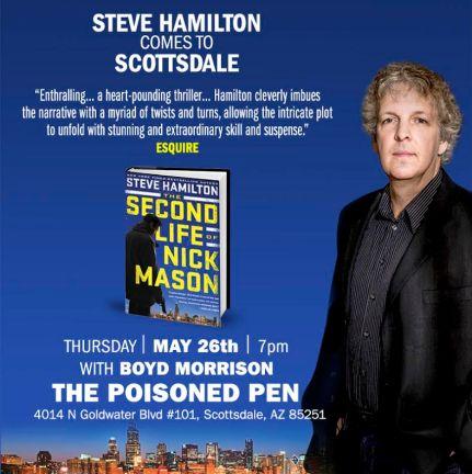 Steve Hamilton poster