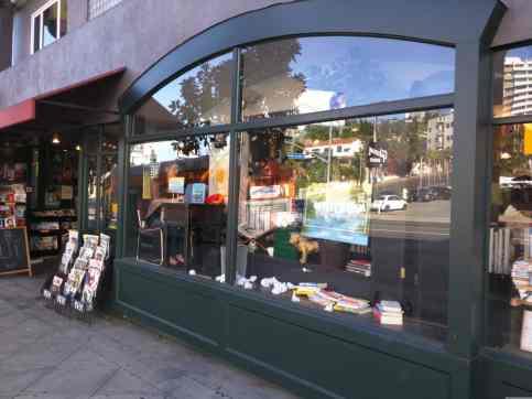 Book Soup window
