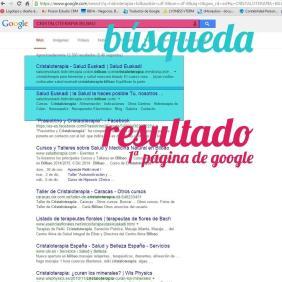 Ejemplo de posicionamiento web en Bilbao de Salud Euskadi hecho por Poison Estudio