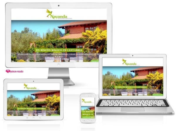 página web creada para Nayanda