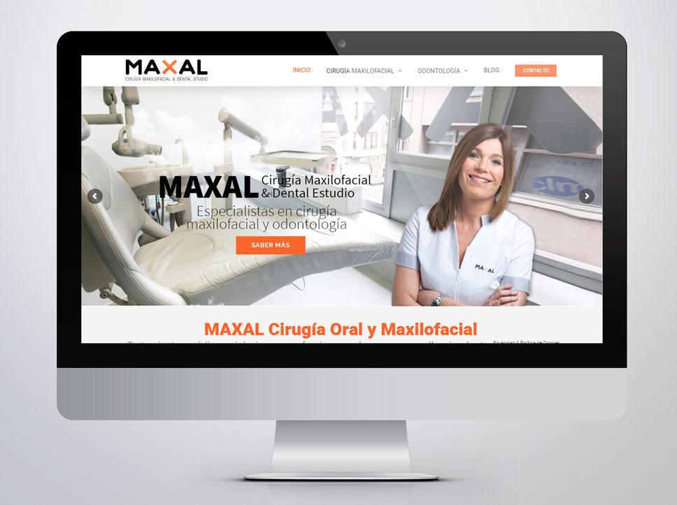 portafolio web thumbnail maxal