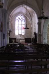 Inside the church of John the Baptist