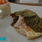 Mousse de fromage blanc et coulis de framboise en verrine