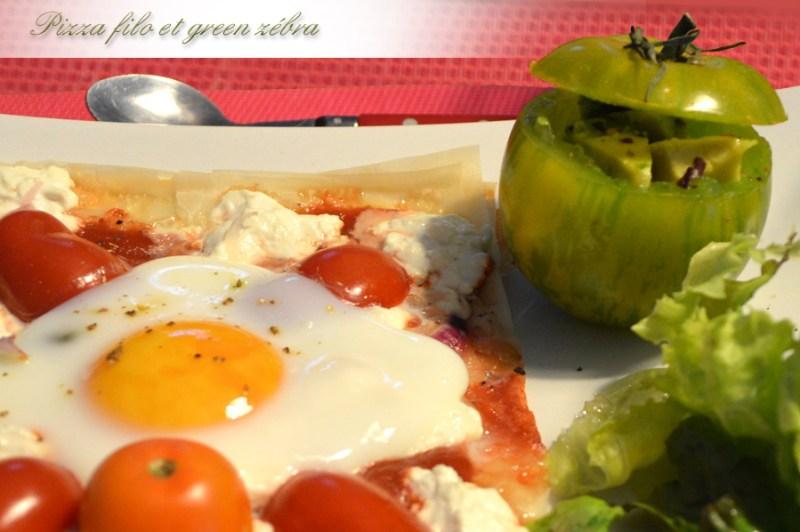Pizza filo et Green Zebra_3