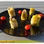 Petits croustillants à la banane, choco, coco