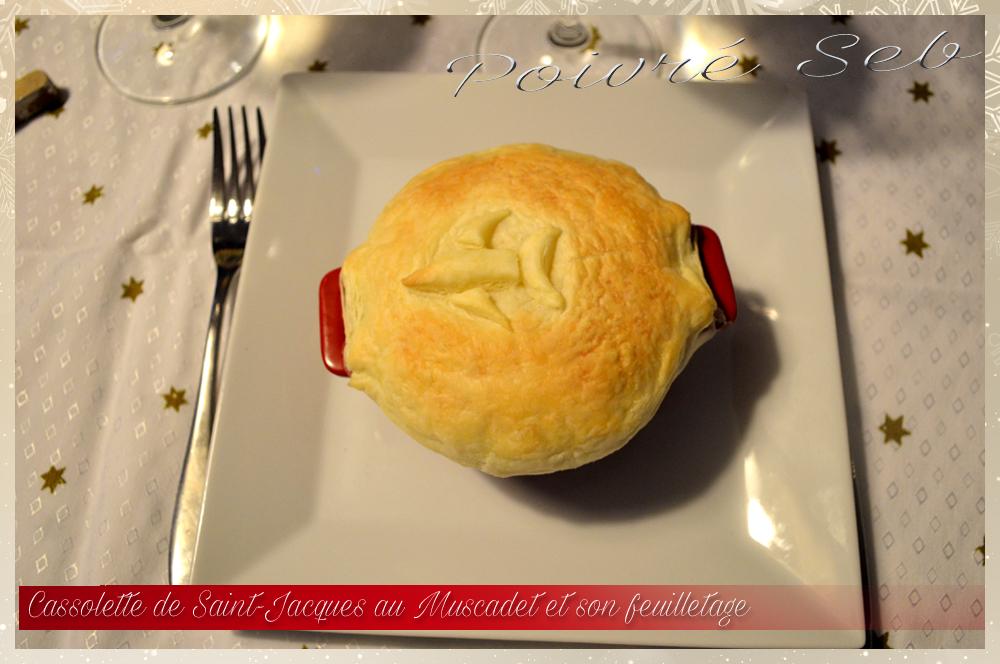 Cassolette de Saint-Jacques au muscadet