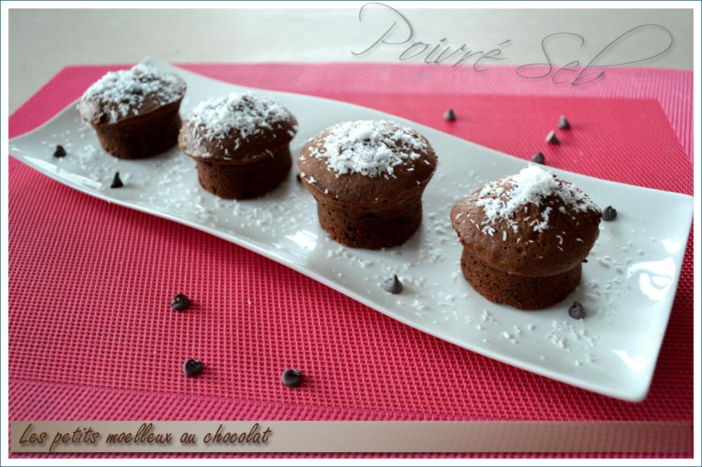 Les petits moelleux au chocolat - Principal