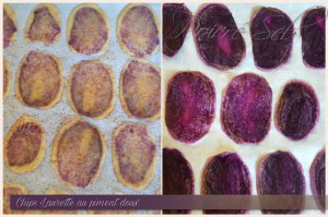 Chips Laurette au piment doux - Préparation 2
