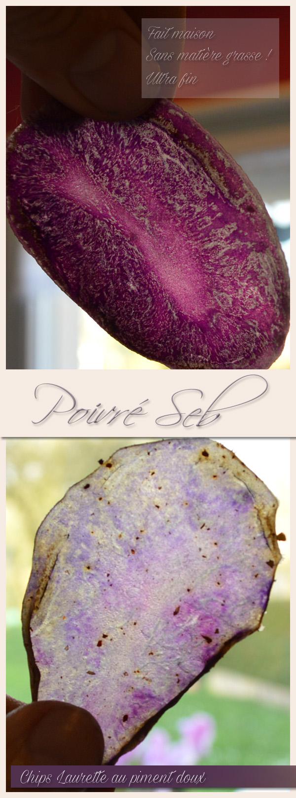 Chips Laurette au piment doux - Présentation