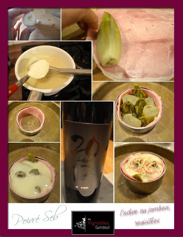 Endive au jambon revisitées préparation