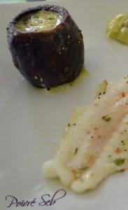 Filet de sabre aux saveurs acidulés et prunelles Verticale
