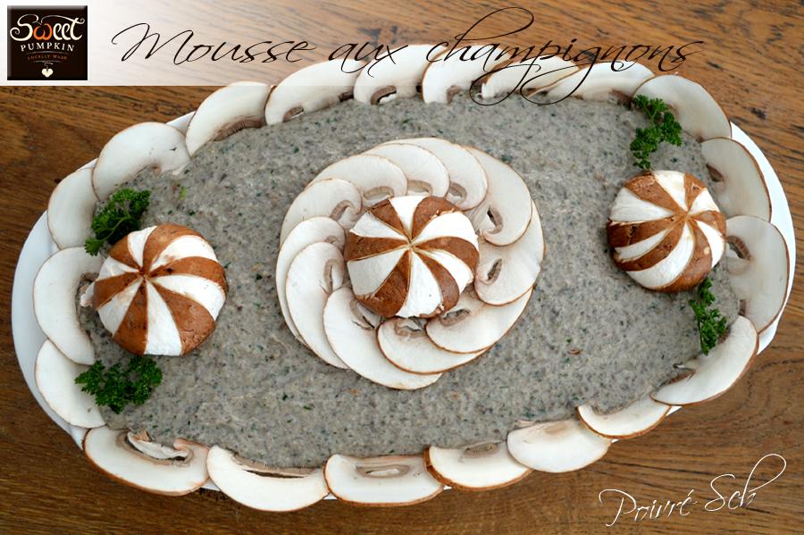 Mousse aux champignons Sweet Pumpkin