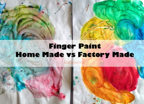 fingerpaint, diy fingerpaint, fingerpaint homemade, messy play
