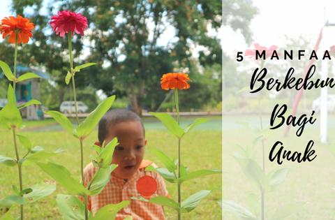 Manfaat Berkebun Bagi Anak, Manfaat bercocok tanam bagi anak, benefit of gardening for children