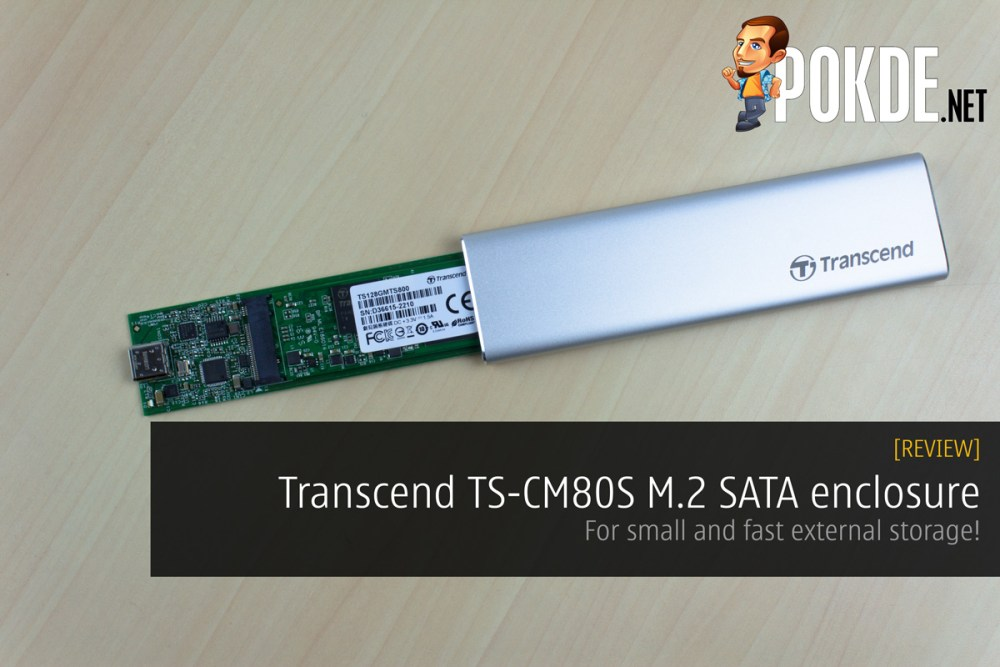 Transcend TS CM80S M2 SATA Enclosure Review For Small And Fast External Storage