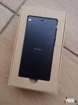 Mi4i packaging phone