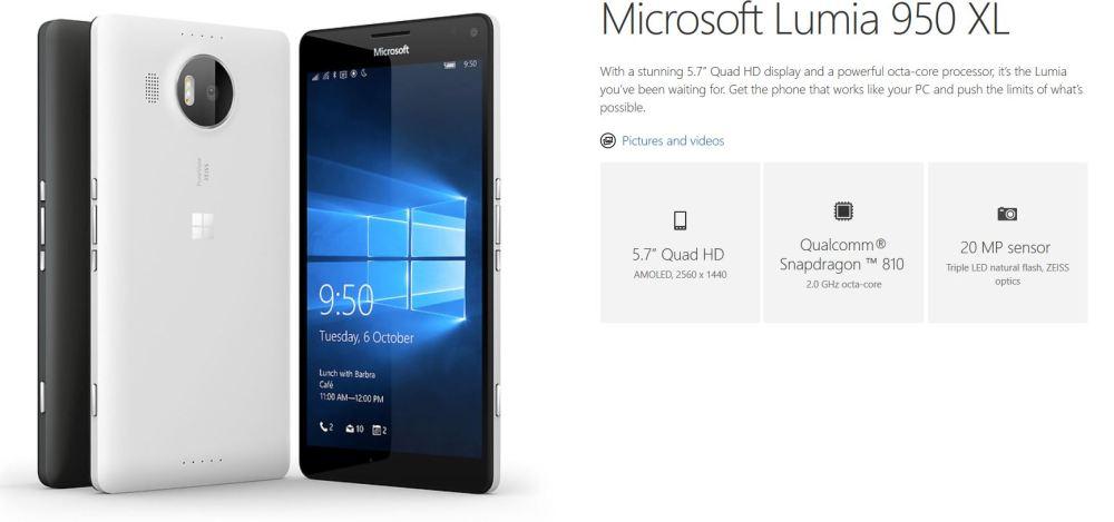 Microsoft Lumia 950 and Lumia 950 XL disassembled — Liquid