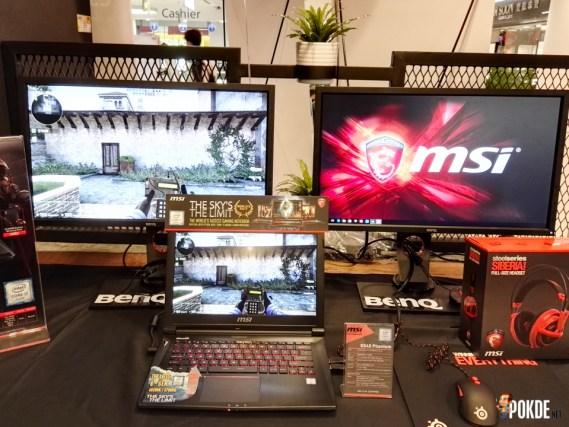 GS40 triple screen