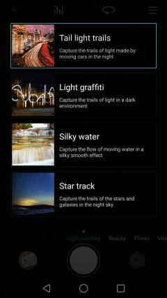 light painting Huawei P8