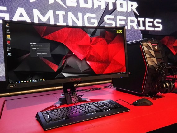 Acer Predator G6 with the Z35 monitor