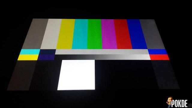 display test m2 2