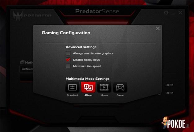 Predator 15 Multimedia