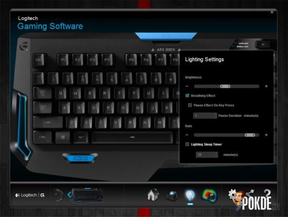 Logitech G310 Atlas Dawn Gaming Software