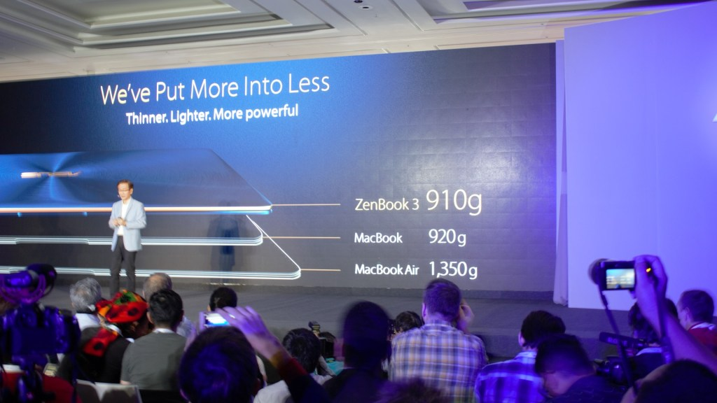 But of course, thinner would only demand lighter too. Sitting at 910g, you would be wondering if it's even true.