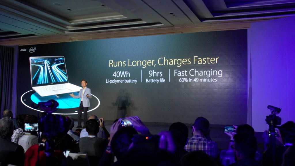 My UX305 runs on a 45W battery, so 40W is not really a shout. But fast charging? Who can say no to that?!