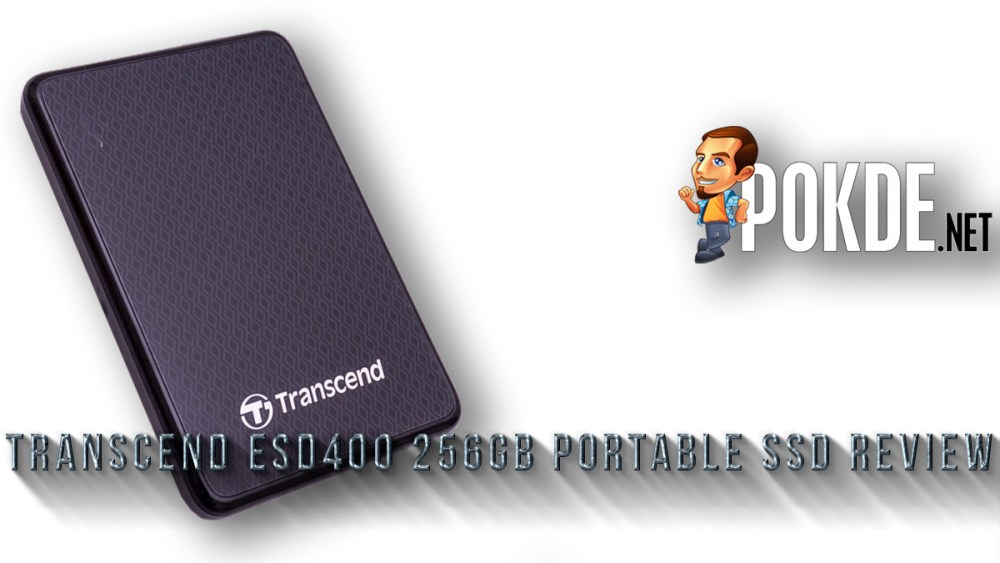 Transcend ESD400 256GB portable SSD review — when you just