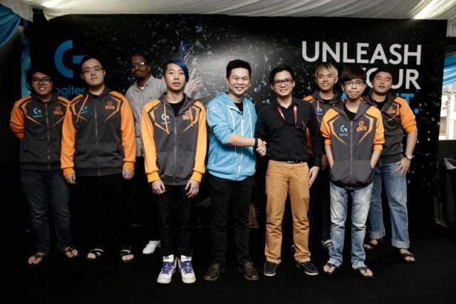 Logitech sponsors Kuala Lumpur Hunters