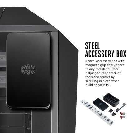 MasterCase Maker 5 Infographic - Steel Box Accessories