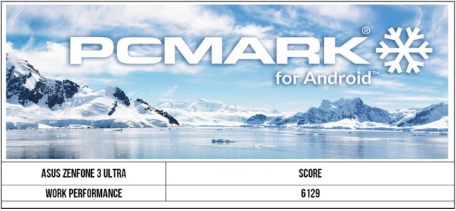 Zenfone 3 Ultra PCMark