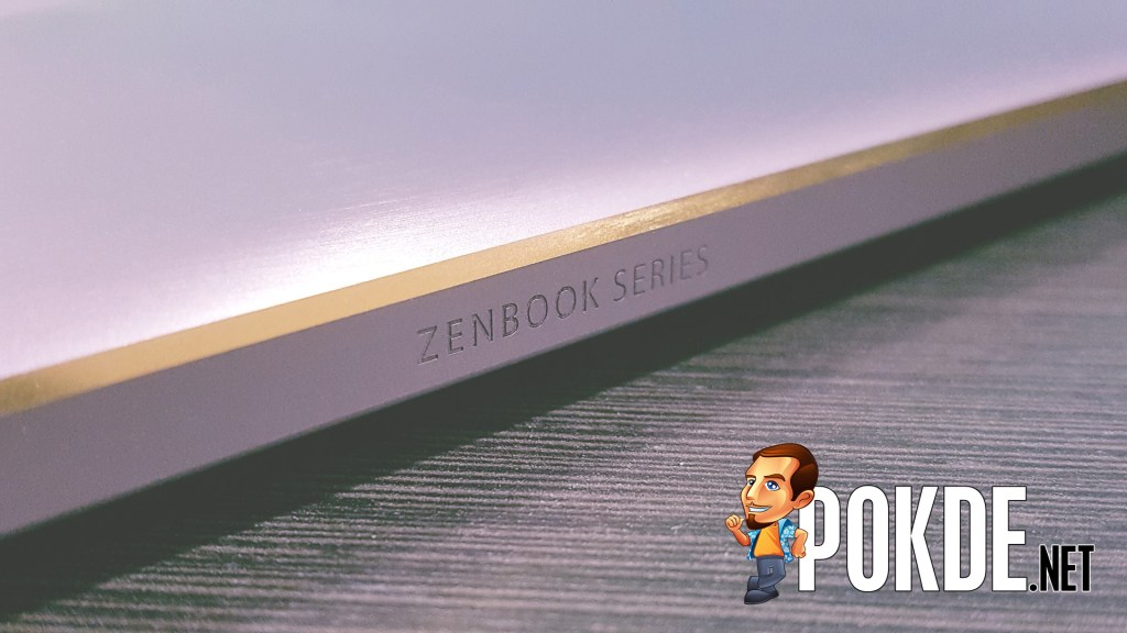 Look at the attention to detail that Asus has put into the Asus Zenbook 3! How could you not fall in love with it?!