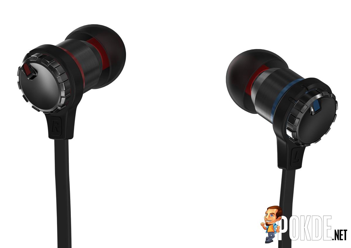 cooler master announces the masterpulse in ear bass fx earphones pokde. Black Bedroom Furniture Sets. Home Design Ideas