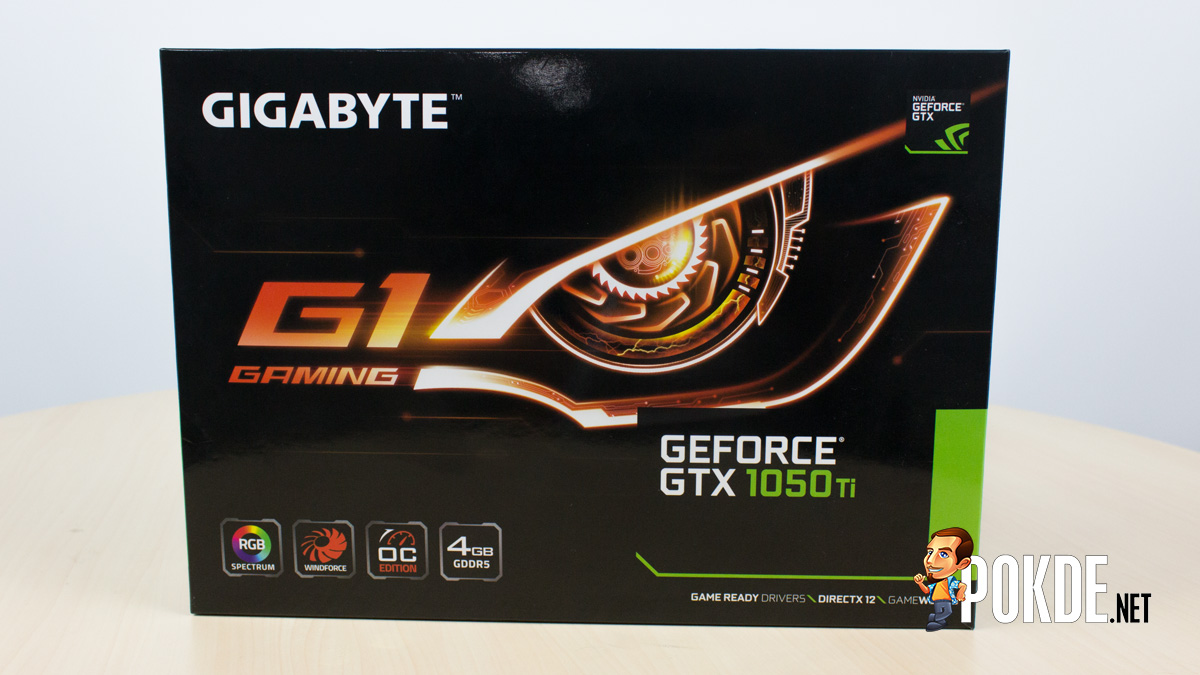 GIGABYTE GTX 1050 Ti G1 Gaming review — made for overclocking