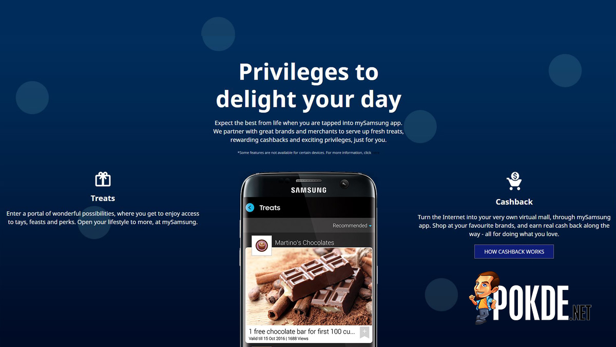 samsung turn the mysamsung to a responsive customer service app users can additionally enjoy direct access to customer service one tap through the app where customer support advice and step by step guidance are