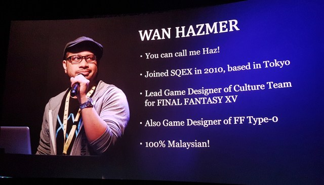 Final Fantasy XV Wan Hazmer