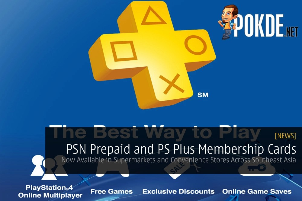 PSN Prepaid Cards and PS Plus Memberships Now Available in
