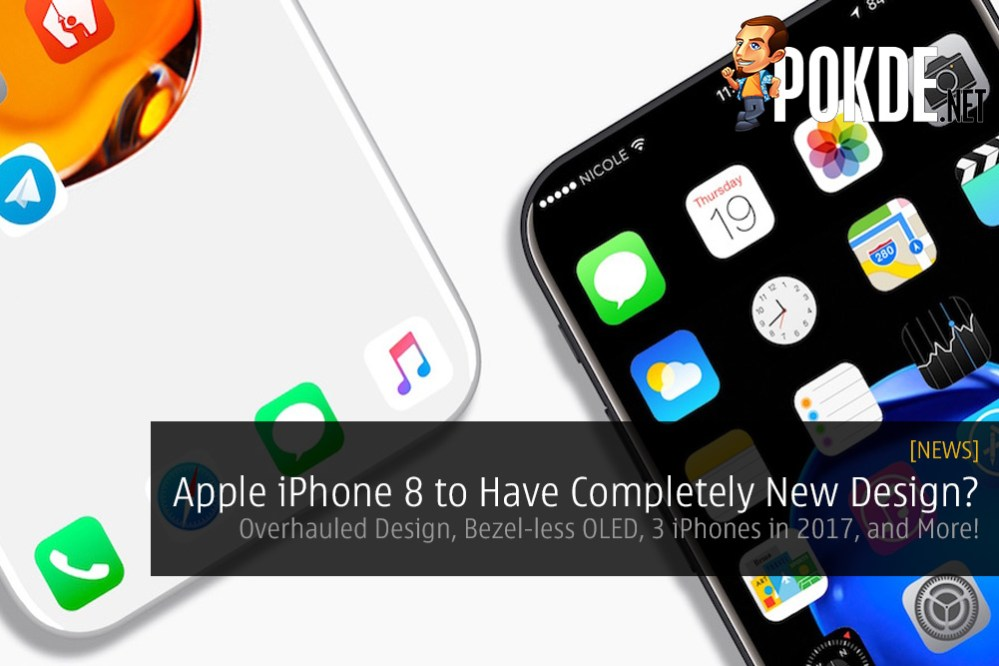 Apple iPhone 8 News: Overhauled Design, Bezel-less OLED Display, 3 iPhones in 2017, and More! 31
