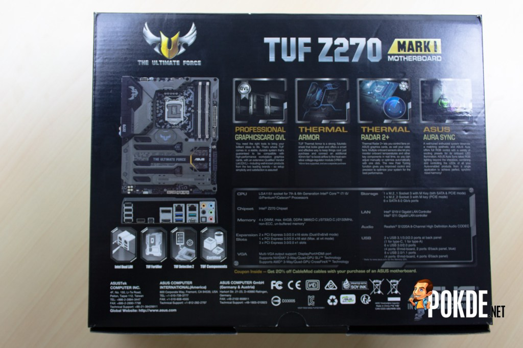 ASUS TUF Z270 Mark 1 Review - Putting out a TOUGH (No Pun Intended) Competition 28