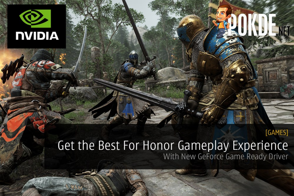 Get the Best For Honor Gameplay Experience with New GeForce Game