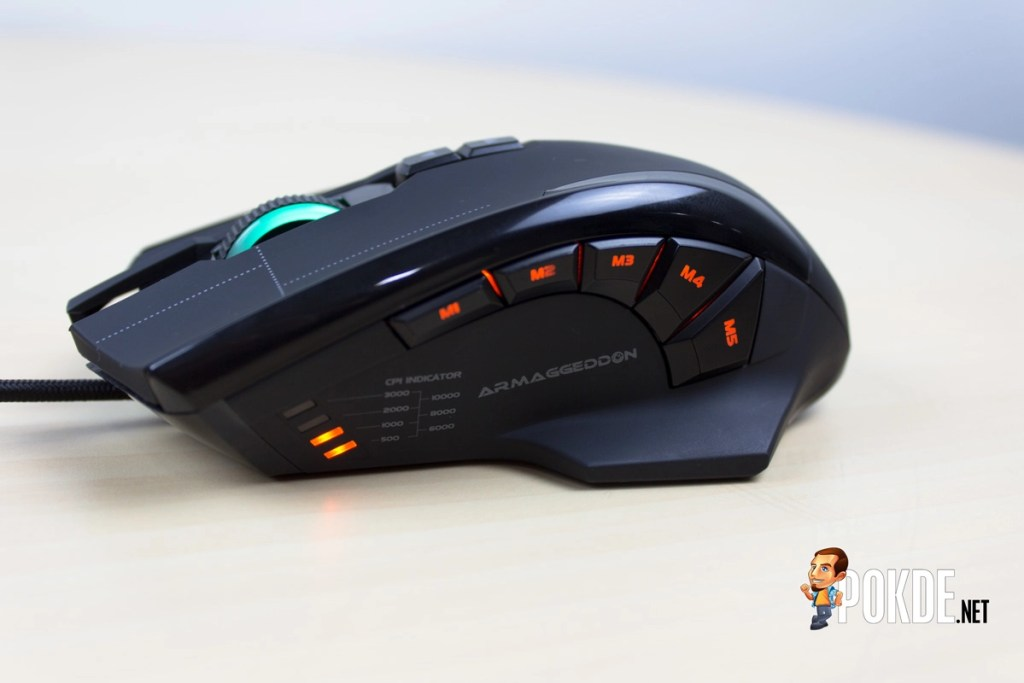 ARMAGGEDDON NRO-5 STARSHIP III 2017 Edition Gaming Mouse Review - Improved design and performance 45