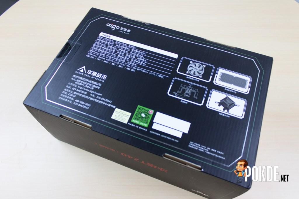 Aigo Serac T240 AIO Liquid Cooler Review - Bigger radiator, better heat dissipation 22