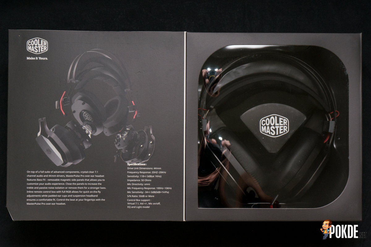 MasterPulse Pro by Cooler Master gaming headset review – Pokde