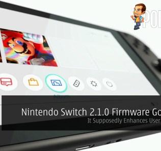 nintendo switch 2.1.0 firmware update
