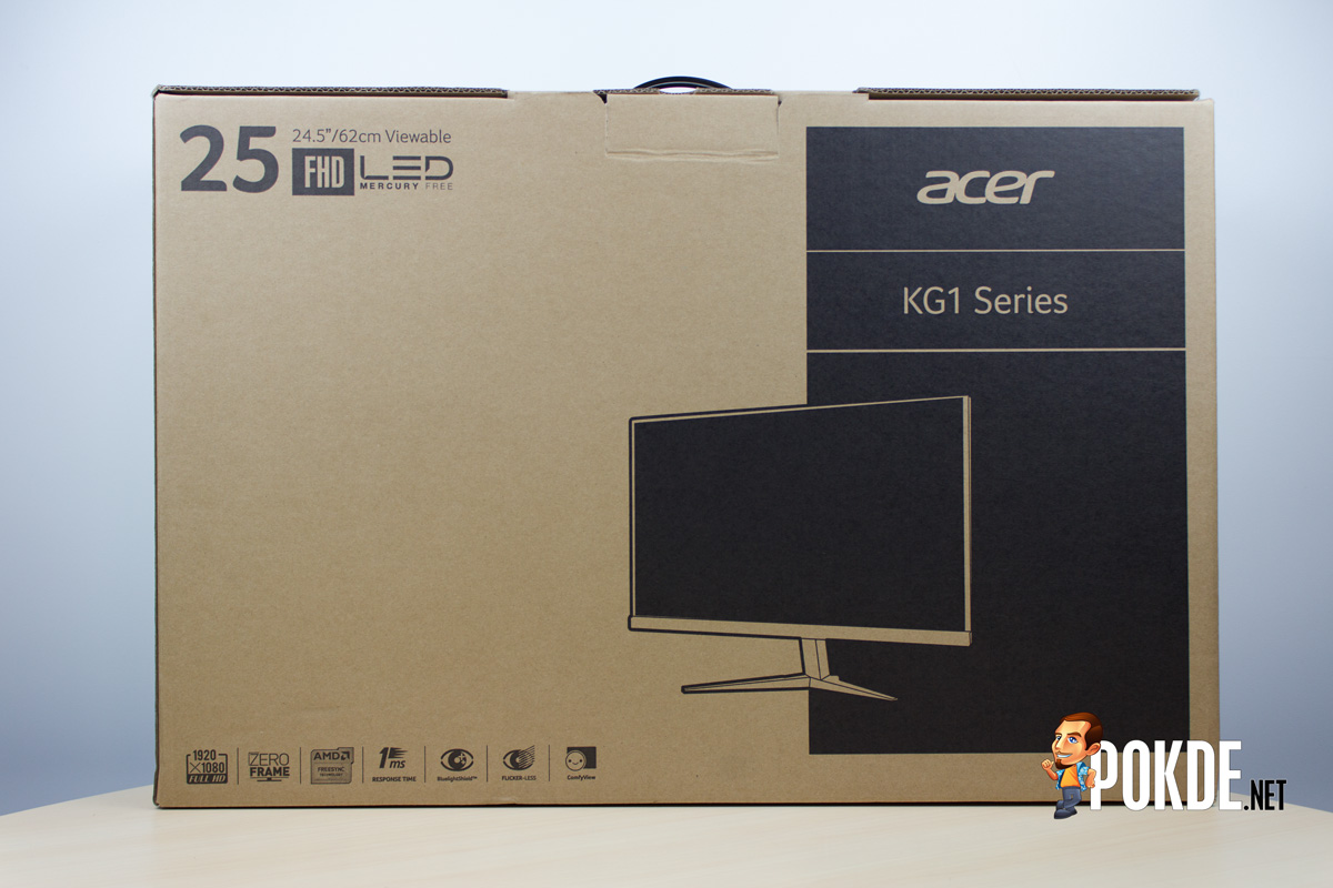 Acer KG251Q monitor review — FreeSync for cheap – Pokde