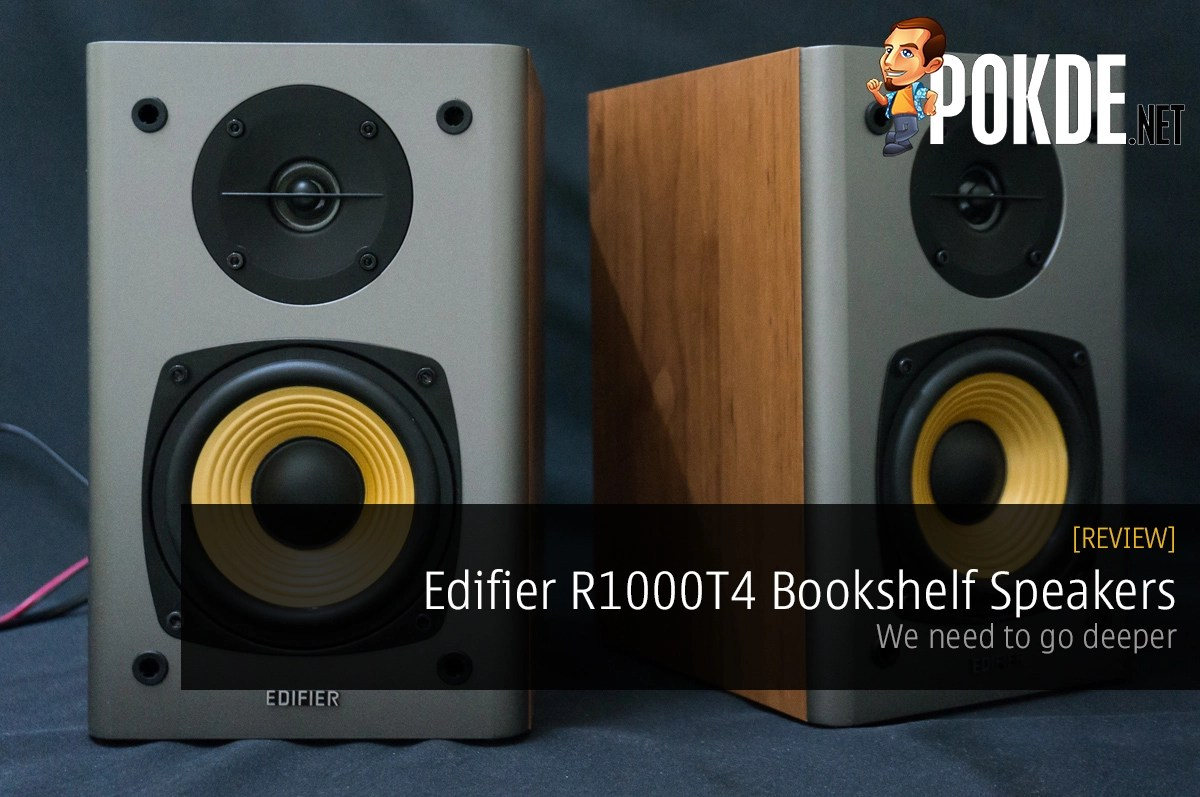 Edifier R1000T4 Bookshelf Speakers Review We Need To Go Deeper Pokde