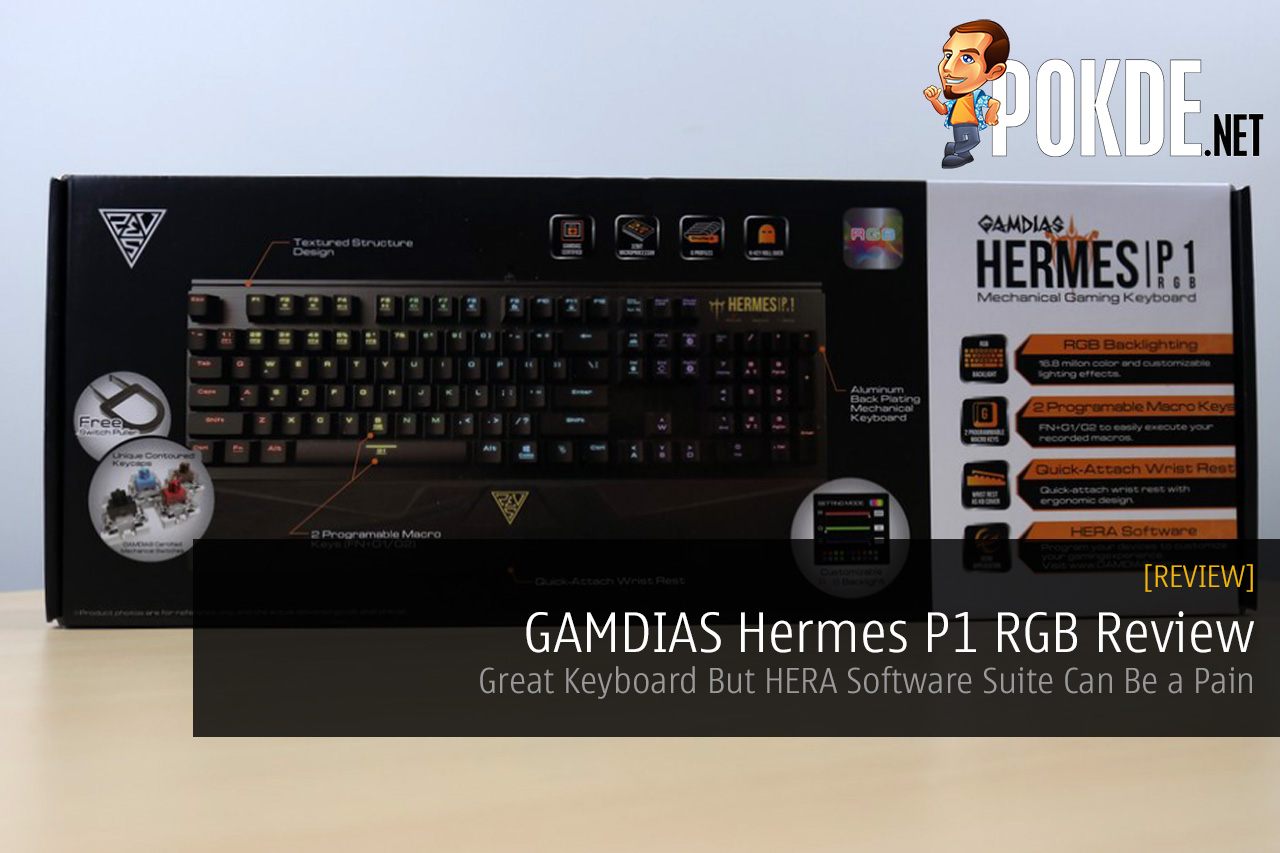 GAMDIAS Hermes P1 RGB Review