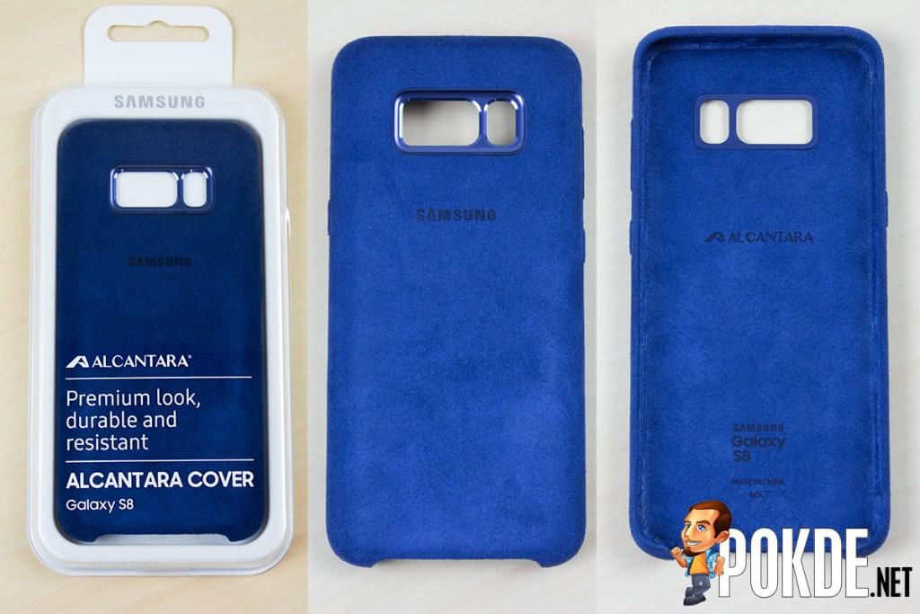 purchase cheap c3d7f 9b872 Samsung Galaxy S8 Review feat. Alcantara Cover Case – Pokde